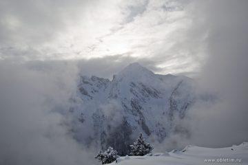 Фотографии Майрхофен – горнолыжный курорт в туманный день