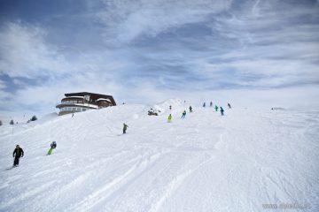 Фотографии Майрхофен –горнолыжный курорт в ясный день