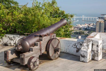 Крепость Гуя (Guia Fortress) в Макао