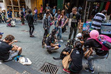 Лан Квай Фонг –улицы баров и ресторанов в Гонконге