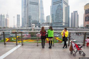 Фотографии людей в Шанхае