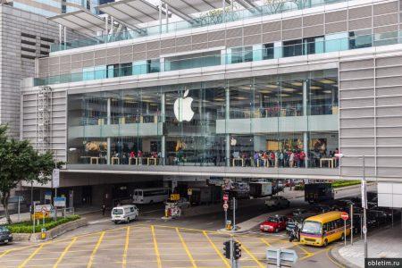 Apple Store в Гонконге