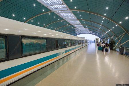Как добраться из аэропорта Шанхая в центр города