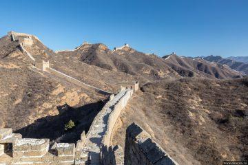 Цзиньшаньлин – Великая Китайская стена в Пекине