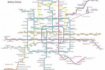 Ориентируемся в метро Пекина