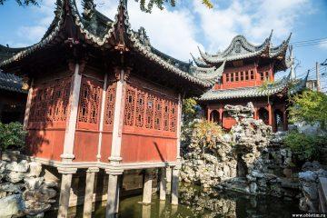 Сад Юйюань в Шанхае