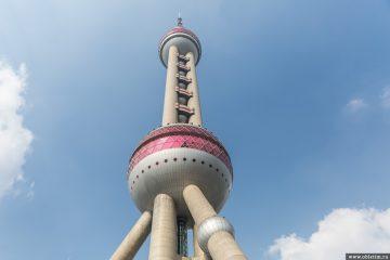Башня Жемчужина Востока в Шанхае