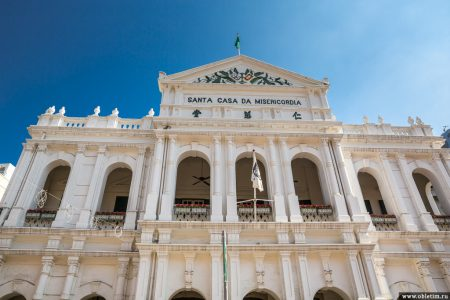 Площадь Сенадо и собор Святого Павла