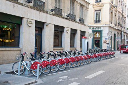 Как арендовать велосипед в Лионе