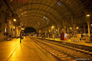 Как ориентироваться на железнодорожном вокзале в Ницце (Nice Ville)