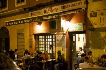 Les Amoureux - одна из лучших пиццерий в Ницце