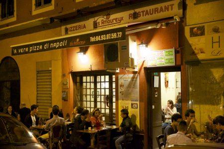 Les Amoureux — одна из лучших пиццерий в Ницце