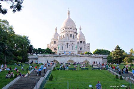 Холм Монмартр и базилика Сакре-Кёр