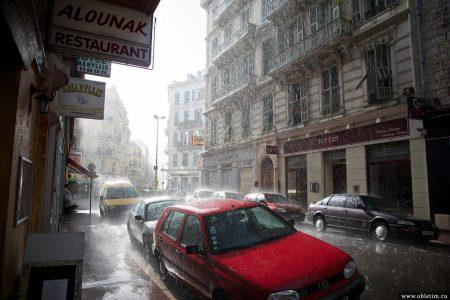 Ницца — один дождливый день