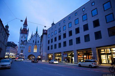 Мюнхен — вечерний город