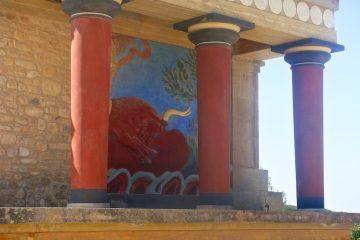 Кносский дворец на Крите