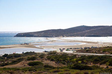 Прасониси — слияние двух морей