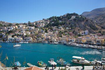 Греческий остров Сими