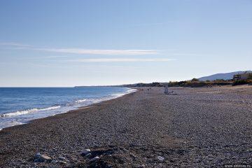 Безлюдные пляжи на юго-восточном побережье Родоса