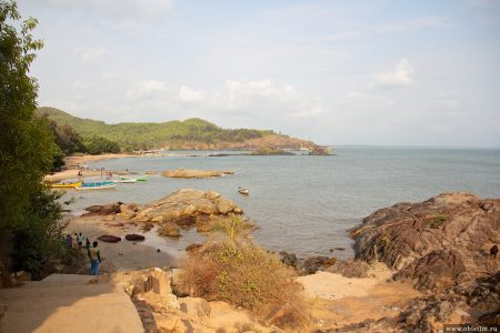 Пляж Ом в Гокарне