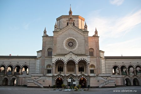 Кладбище Cimitero Monumentale в Милане