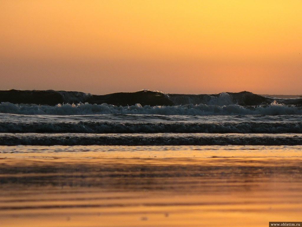 Закат в Агадире