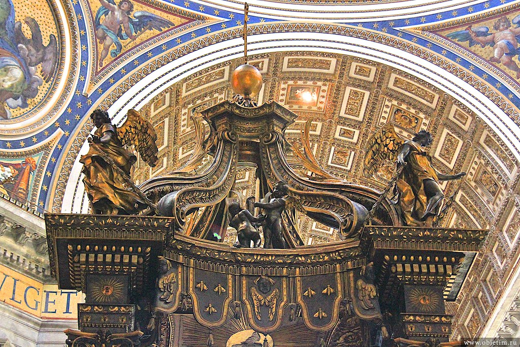 Балдахин Собора Святого Петра