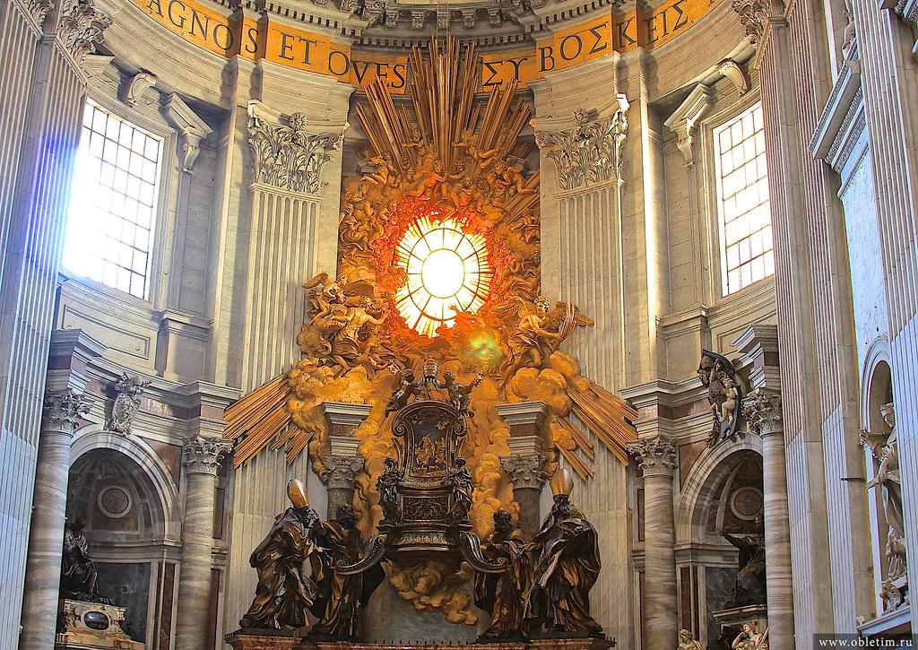 Папский престол. Лоренцо Бернини.