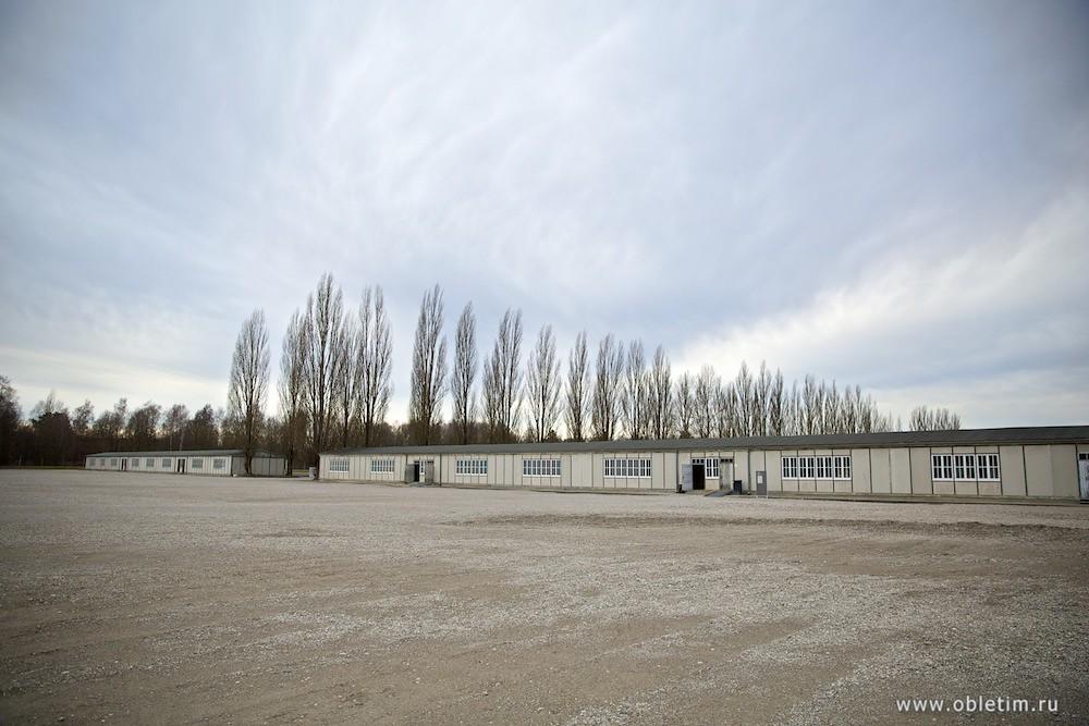 Концентрационный лагерь Дахау - площадь аппельплац
