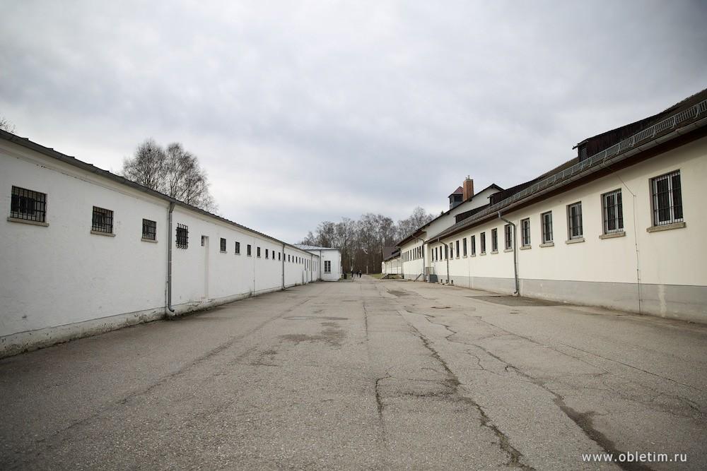 Концлагерь Дахау. Здание тюрьмы.