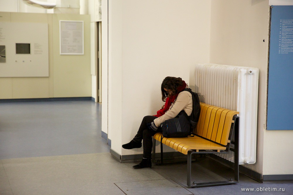 Утомившийся человек