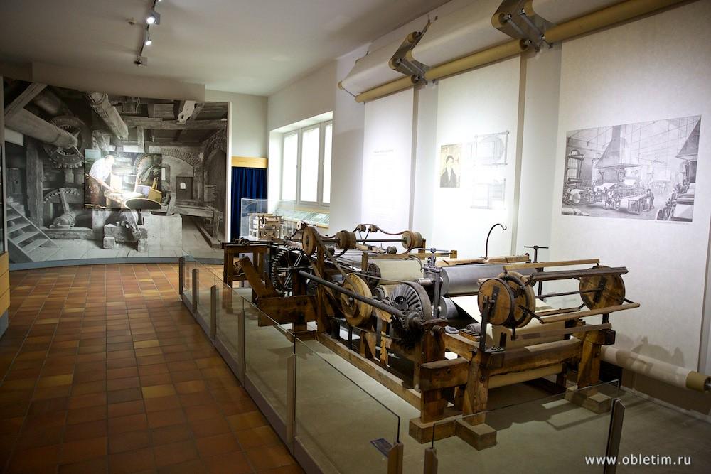 Немецкий музей - Производство бумаги
