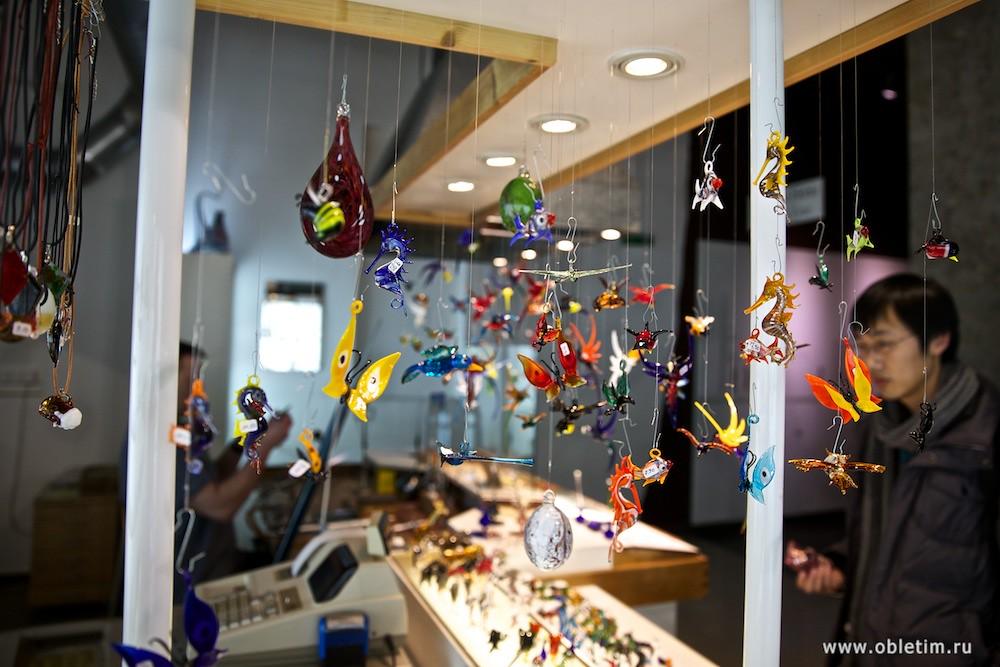 Немецкий музей - Выдувание стекла
