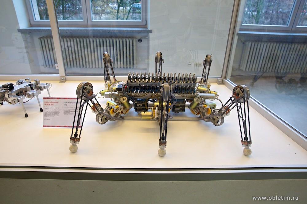 Немецкий музей - отделение робототехники