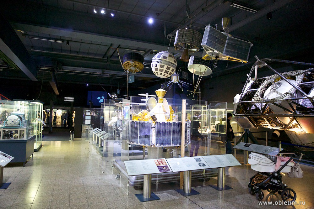 Немецкий музей - Зал космонавтики