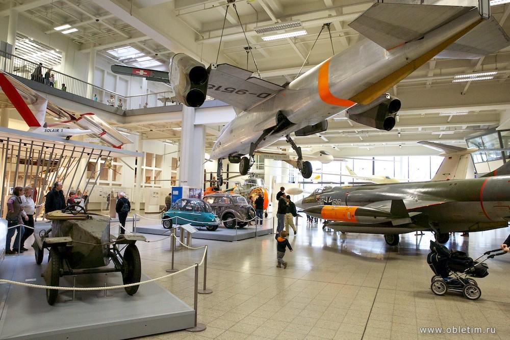 Немецкий музей - Зал самолётов
