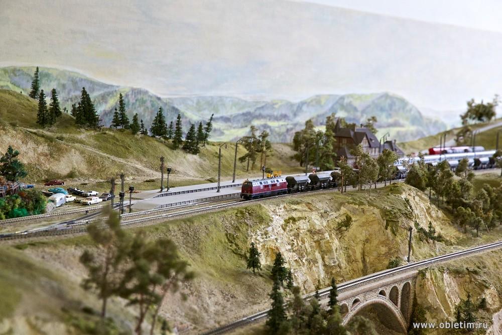 Немецкий музей - Железные дороги