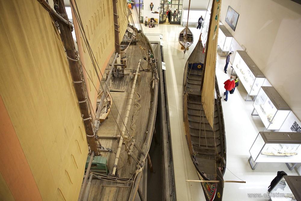 Немецкий музей - Зал кораблей