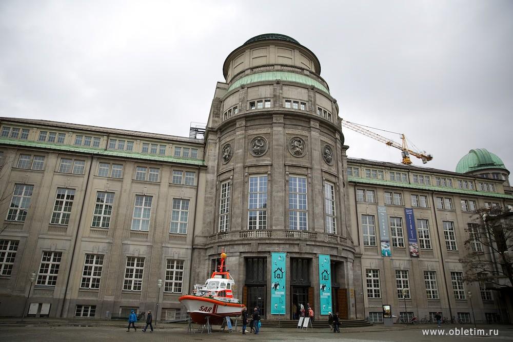 Немецкий музей достижений естественных наук (Deutsches Museum von Meisterwerken der Naturwissenschaft und Technik)