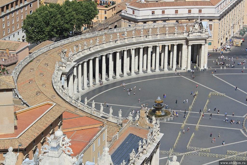 Коллонада Ватикана
