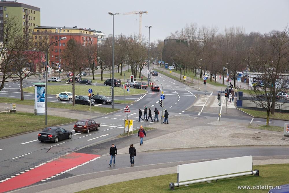 Дорога в Мюнхене
