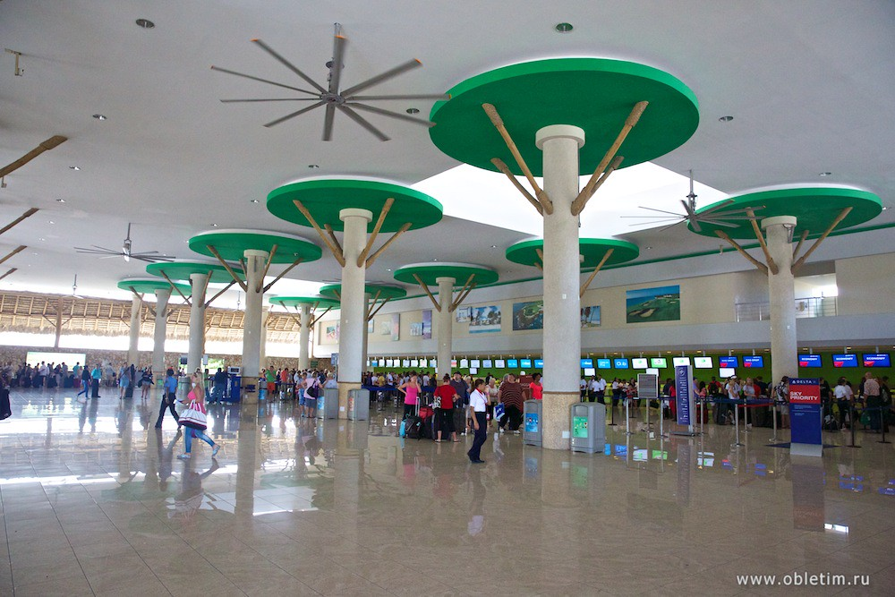 Аэропорт Пунта Кана в Доминикане