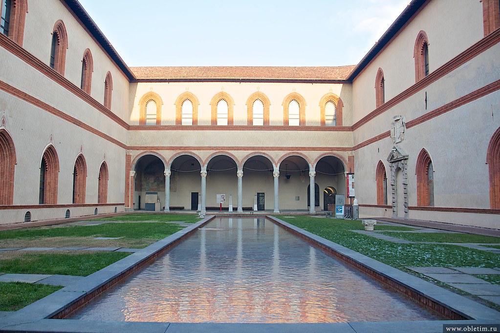 музеи замка Сфорца