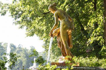 Петергоф и фонтаны