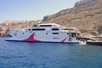 Как добраться до острова Санторини с острова Крит