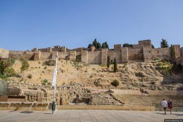 Крепость Малаги (крепость Алькасаба)
