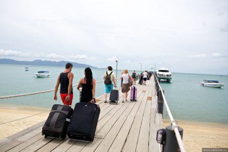 Как перемещаться между островами Самуи, Тао, Панган | катер Ломпрая