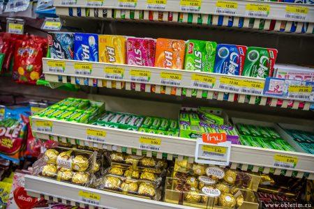 Низкие цены на продукты в Таиланде