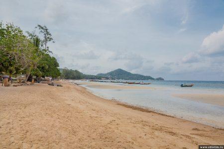 Сайри бич (Sairee Beach) – центр Тао