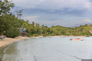 Пляж Чалок на острове Тао
